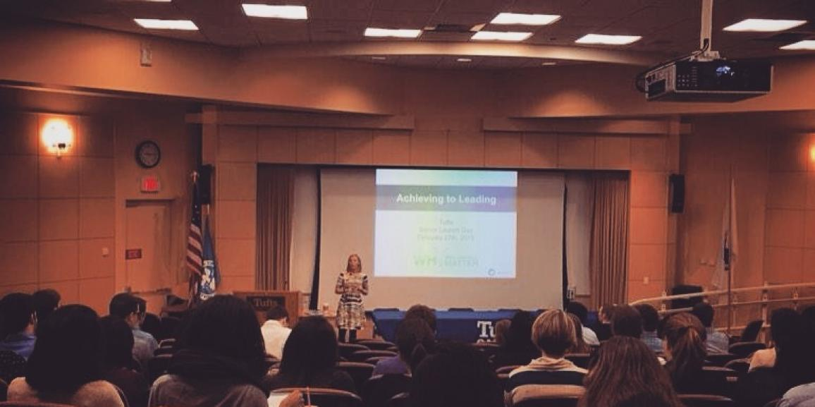 Achieving to Leading at Tufts University