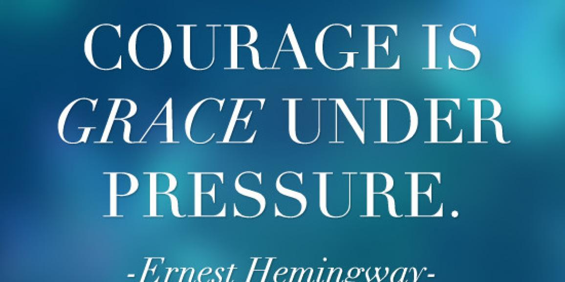 why courage matters Why courage matters is an extended essay on the subject of what courage is and why each of us should be concerned about learning lessons about courage for.