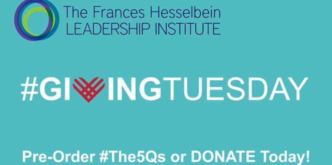 #GivingTuesday | PreOrder #The5Qs TODAY